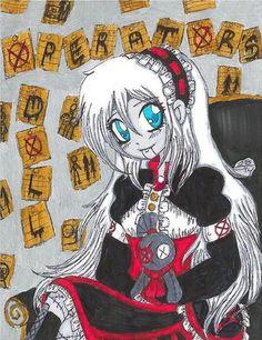 Ally Creepypasta Girls, Creepypasta Characters, Wattpad, Fnaf, Art Tutorials, Scary, Humor, Anime, Marble