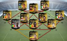 TOTW 6 IF (in-form) players (including Zlatan Ibrahimovi?, Mesut ?zil & Eden Hazard!) will be available in packs from 6pm (UK time), October 23rd 2013 until 5:30pm (UK time), October 30th 2013. This team can be challenged in the 'Team of the Week' section within FIFA 14 Ultimate Team on your console.http://www.fifa-coins.com/
