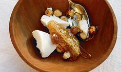 Hugh Fearnley-Whittingstall's Three Good Things on a Plate | Ricotta, honeycomb and hazelnuts recipe