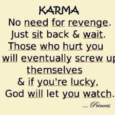 I can confirm that Karma does indeed work, and seeing it in action is the best!