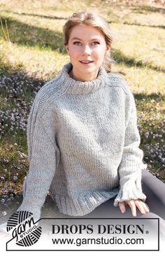 Outback / DROPS 217-23 - Ilmaiset neuleohje DROPS Designilta Cardigan Pattern, Sweater Knitting Patterns, Top Pattern, Vogue Knitting, Free Knitting, Drops Design, Tapestry Crochet, Knit Crochet, Jumpers For Women