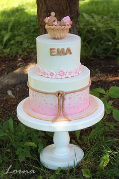 Christening cake.. by Lorna