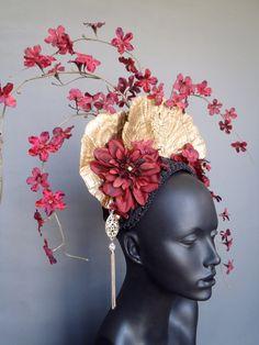 Gold Fungus & Flower Headdress