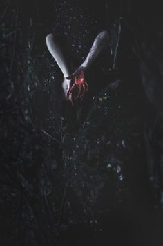 Eerie | Creepy | Surreal | Uncanny | Strange | 不気味 | Mystérieux | Strano | Blood on your hands by beyondimpression on deviantART