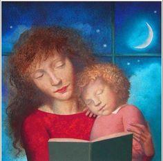 A mother's tale / Un cuento de mamá (ilustración de Peter Malone)