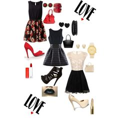 A fashion look from January 2015 featuring Chi Chi dresses, Steve Madden pumps and Charlotte Russe pumps. Browse and shop related looks.