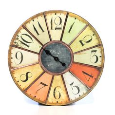 "Dona Oversized 24"" Wall Clock"
