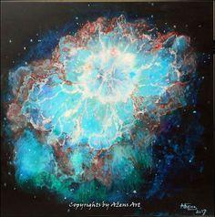 Original Light Painting by Azens Art Space Painting, Light Painting, Abstract Expressionism Art, Abstract Art, Original Paintings, Original Art, Gods Eye, Light Turquoise, Light Blue
