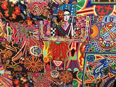 Colorful patchwork ethnic Mexican style printed heavy weight polyester viscose upholstery fabric-Half Yard