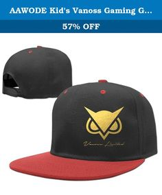 AAWODE Kid's Vanoss Gaming Gold Owl Hats Caps Red. Fashion Design,suitable For All Kinds Of Outdoor Activities.The Front Panel Is Customizable To Any Additional Printing Designs For Your Desired Look.