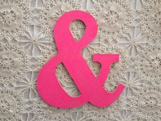 Neon Pink Ampersand, guestbook