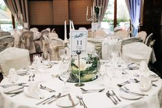 This is a simple yet classically elegant wedding colour scheme in white at the Brehon Hotel Elegant Wedding Colors, Wedding Color Schemes, Classic White, Colour, Table Decorations, Simple, Home Decor, Color, Decoration Home