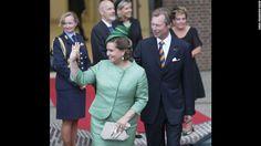 Grand Duke Henri and Grand Duchess Maria Teresa of Luxembourg married in 1981. The grand duke has reigned since 2000.