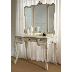 French vintage mirrored dresser.. Just beautiful!