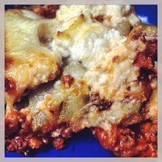 Lasagne de courgettes #cuisine #faitmaison #lasagne #courgette #légume #platprincipal #salé