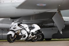 The 2013 #Suzuki #Hayabusa ABS posing at Bruntingthorpe proving ground for the UK press event
