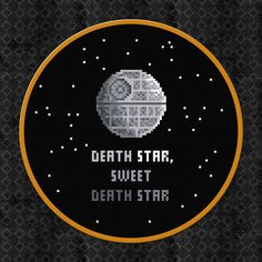 Death Star Sweet Death Star  Star Wars  von AmazingCrossStitch, $5.00