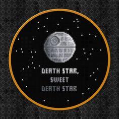 Death Star Sweet Death Star  Star Wars  von AmazingCrossStitch, $5.00