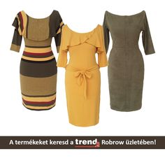 Tombol az ősz! Frissítsd fel gardróbodat nálunk, a Trend2-ben! Nézz be a Robrow üzletébe!