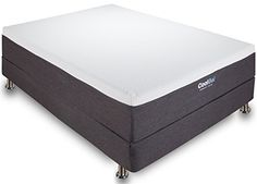 Classic Brands 12 Inch Cool Gel Memory Foam Mattress, Queen * More info could be found at the image url.
