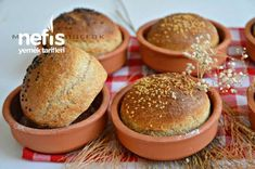 Small Breads in Casserole (Very Practical for Beginners) - Delicious Recipes - JUNA How To Make Bread, Food To Make, Healthy Eating Tips, Healthy Recipes, Delicious Recipes, Types Of Bread, Tasty, Yummy Food, Breakfast Menu