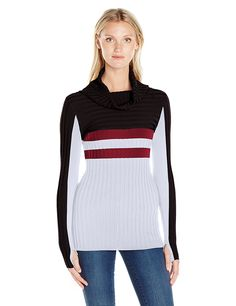 Blanc Noir Women's Futurity Sweater at Amazon Women's Clothing store: