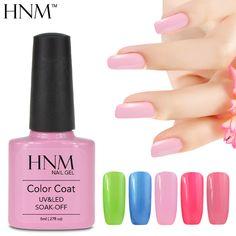 HNM Soak Off Gel Nail Polish Manicure Nail Art UV LED Gel Polish Gel Lak Gel Varnishes Semi Permanent Gelpolish