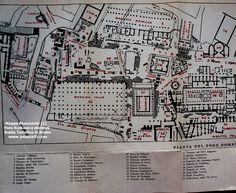 mappa foro romano monumenti (1) roma