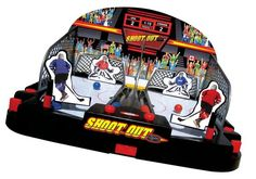 POOF-Slinky - Ideal Motorized Shoot-Out Hockey with Automated Goalie and Automatic Ball open box