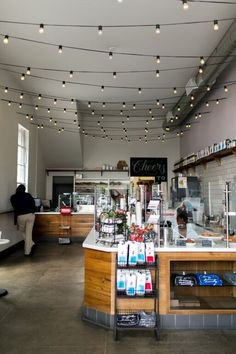 Who said coffee shops are supposed to be dark, gloomy, and mysterious? This gorgeous space is light, bright, and airy with charming details throughout. Lavender