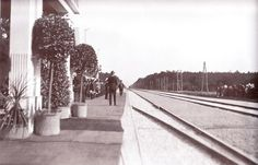 Gare de Scwarzau le jour du mariage
