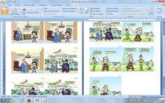 Comic made with Creaza,wonderful tool.