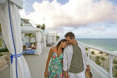 Stroll along the cabana deck at The Ritz-Carlton, Fort Lauderdale