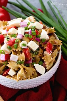 Best summer side dish recipes for a bbq picnic or any occasion bruschetta caprese pasta salad recipe forumfinder Gallery