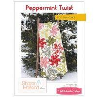 Peppermint Twist Downloadable PDF Quilt PatternSharon Holland Designs