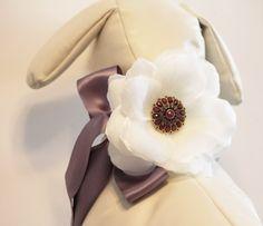 Lavender wedding dog collar Lavender Wedding by LADogStore on Etsy, $43.50