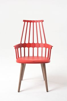 amazing new Comback chair from Kartell designed by Patricia Urquiola http://www.awhiteroom.com/kartell/kartell-comback-chair.asp