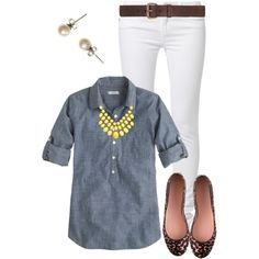 """""""J. Crew Style"""" by aaauty on Polyvore"""