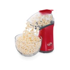 Give movie night an upgrade with the delicious taste of homemade popcorn with this Presto hot air corn popper. Hot Air Popcorn Popper, Air Popcorn Maker, Air Popper, Air Popped Popcorn, Pop Popcorn, Gourmet Popcorn, How To Make A Poached Egg, Homemade Popcorn, Cooking For Two