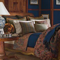 """Ralph Lauren """"Bedford Hunt"""" Paisley Queen Comforter RALPH LAUREN http://www.amazon.com/dp/B003NT8IFY/ref=cm_sw_r_pi_dp_sxf2tb11YD9W9S7K"""