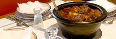 Alcatra: Portuguese pot roast. Served during the Holy Ghost Festival