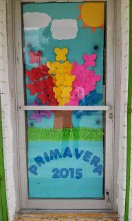 Proyectos educativos ¡Y más!: Ideas para decorar puertas de las aulas.