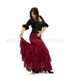 2c84e731a1 Flamenco · ENVIO GRATIS ! Pida hoy su Faldas flamencas de MUJER modelo Lola  encaje por solo