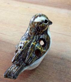 sparrow ocarina from clay by Geotjakra