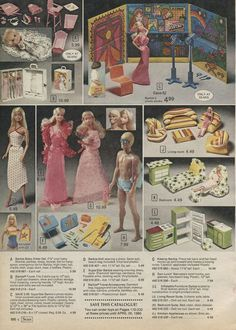 So much here I had or wanted! (From 1979 Wishbook)