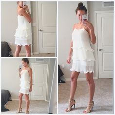 Romeo & Juliet Couture Swift Dress This is such a romantic dress with thin pleats.Sass this dress up with some creme de la creme heels & some nice jewelry and your ready to go. Adjustable straps! Free People Dresses Midi