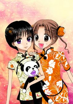 Hotaru and Mikan
