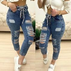 Teen Fashion Outfits, Young Fashion, African Fashion Dresses, Womens Fashion, Denim And Lace, Fashion For Women Over 40, Kawaii Clothes, Plus Size Jeans, Skirt Fashion