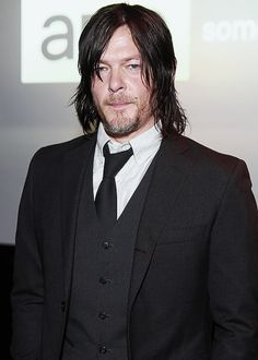 Norman Reedus attends the AMC Ad Sales Event on March 23, 2015 in New York City.