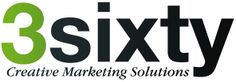 3sixty Creative Marketing Solutions Logo designed in Adobe Illustrator for my company. #3sixtyCMS #logo